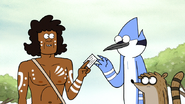 S6E13.123 Wally Tharah Giving His Business Card to Mordecai