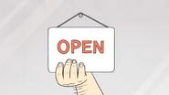 S4E13.083 Open Sign