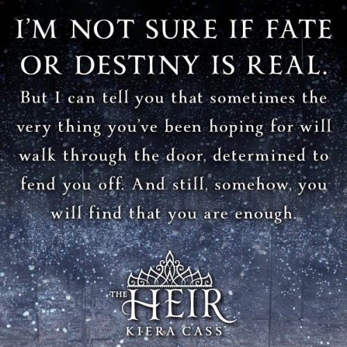 Image result for the heir quotes
