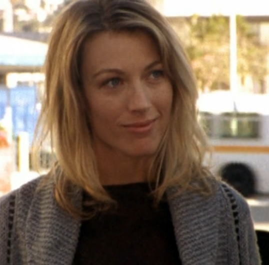 Natalie Zea on the shield