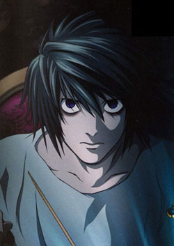 Lawliet   The Sk...L Lawliet Standing