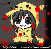Jeff the killer chibi by aldu candy-d5nrr8x
