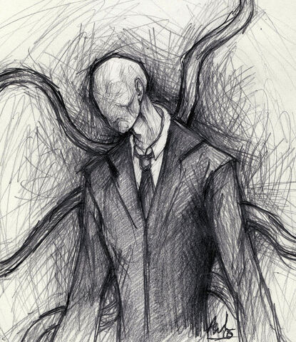 File:Slender man by arborrelli.jpg