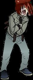 Screamer zombie