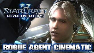 Starcraft 2 ► Nova Covert Ops Rogue Agent Awakening Cinematic HD-0