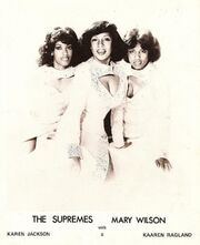 Mary Wilson of The Supremes Show