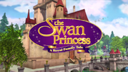 The Swan Princess a royal family tale logo