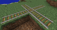 Rail junction example