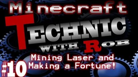 Minecraft Technic Part 10 Mining Laser and Making a Fortune!