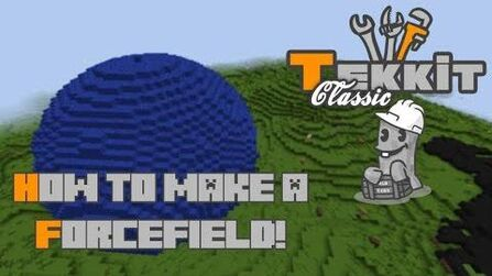 Tutorial how to make a forcefield the tekkit classic for Classic house tutorial