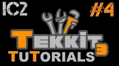 Tekkit Tutorials - IC2 4 - Basic Machines and Machine Components