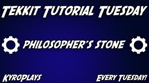 Philosopher's Stone Tutorial Tekkit