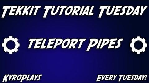 Teleport Pipes Tutorial Tekkit