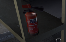 Fire Extinguisher - The Thing (2002)
