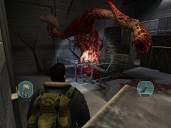 Blake fights the Furnace Rupture (1) - The Thing (2002)