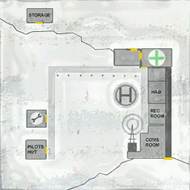 Outpost 31 Map Texture - The Thing (2002)