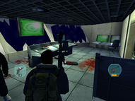 Military Airstrip ATC interior - The Thing (2002)