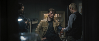 Olav in the medical lab, The Thing (2011)