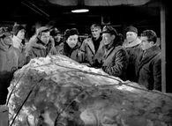 Around the ice block - The Thing (1951)
