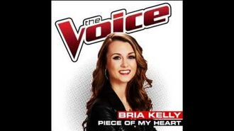 Bria Kelly - Piece Of My Heart - Studio Version - The Voice USA 2014