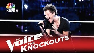 "The Voice 2015 Knockout - Keith Semple ""I Want to Know What Love Is"""