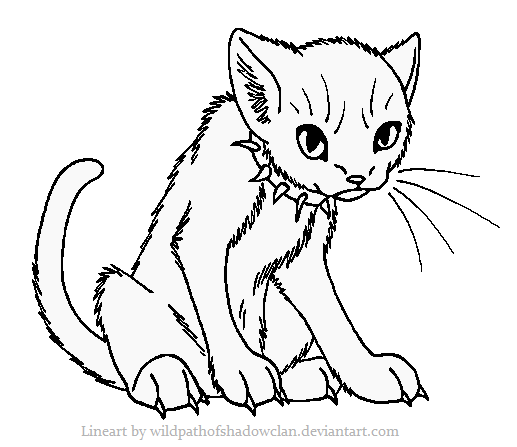 Warrior Cat Printable Coloring Pages  Printable Coloring Pages