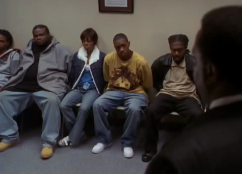 File:The Wire Season 3 Finale- Bernard Can't Wait to Go To Jail.jpg