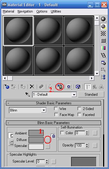 3dsmax Material Editor