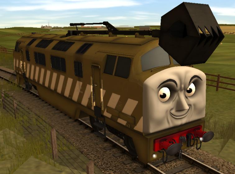 Diesel 10 Thomas The Trainz Adventures Wiki Fandom