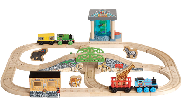 thomas at the zoo set thomas wooden railway wiki fandom powered by wikia. Black Bedroom Furniture Sets. Home Design Ideas