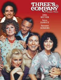 Three's Company Season 3 DVD cover