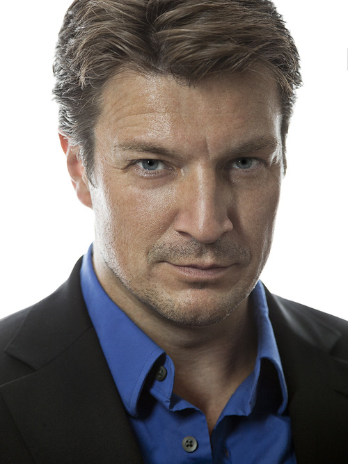 nathan fillion gif nevermind