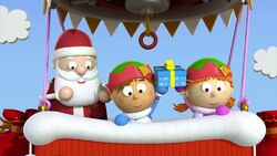 Tommy, Tellulah and Santa Claus