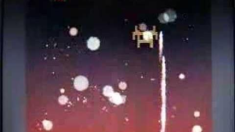100 invaders - gameplay example by jph wacheski