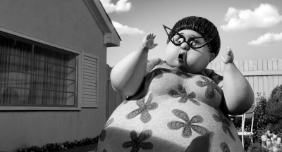 Fat Lady in Tim Burton's Frankenweenie