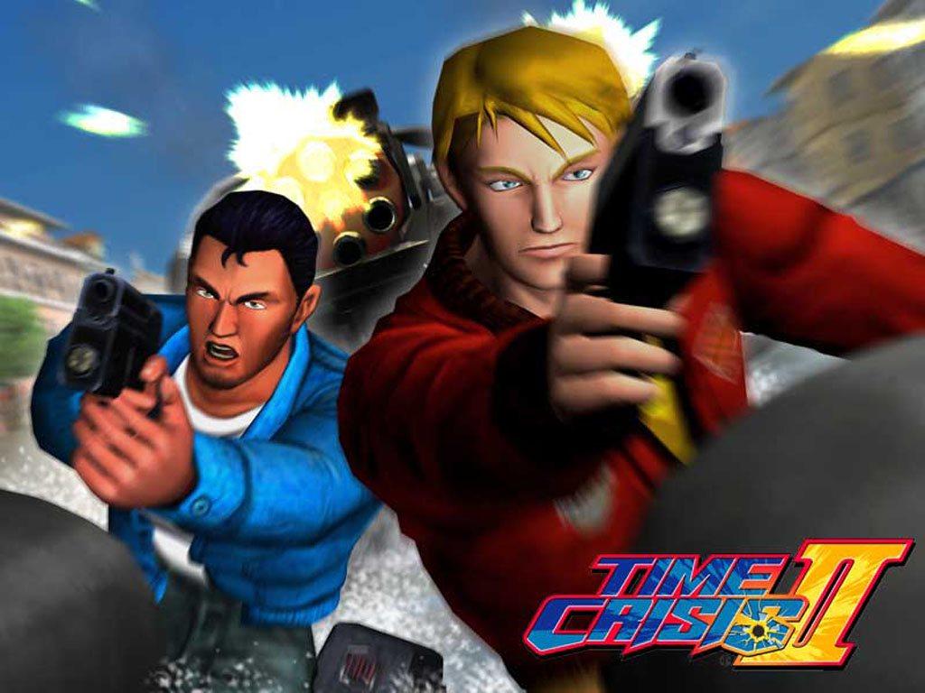 Time crisis II arcade