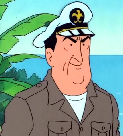 Image allan tintin wiki fandom powered for What kind of fish does captain d s use