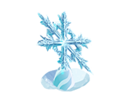Decoration 1x1 snowflake 4 tn@2x