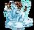 Decoration 3x3 snow dog tn@2x