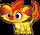 Monster firelion baby