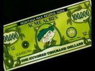 Monty's $100,000 dollar bill