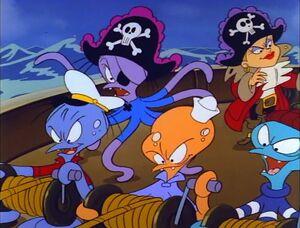 Octopus pirates