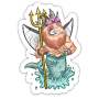 Sticker waterfairy@2x