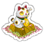 Sticker luckycat@2x