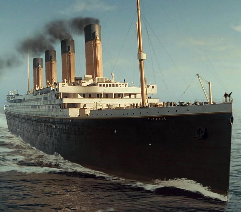 Schiff Titanic