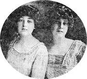 Katherine and Madeleine circa 1908