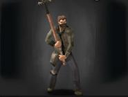Survivor with Claw Rake