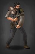 Survivor with Saw-Ax