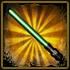 Stars Wor - Green Plastic Laser Sword