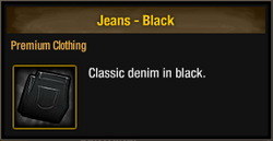 TLSDZ Jeans - Black